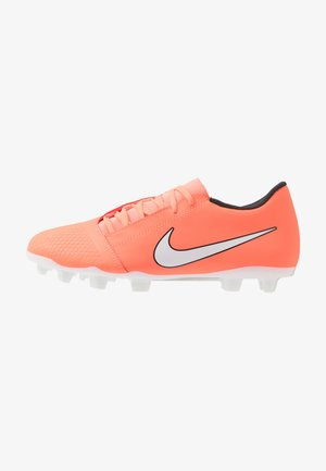 PHANTOM CLUB FG - Voetbalschoenen met kunststof noppen - bright mango/white/anthracite