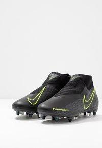 Nike Performance - PHANTOM VSN ACADEMY DF SGPRO AC - Chaussures de foot à lamelles - black/volt - 2