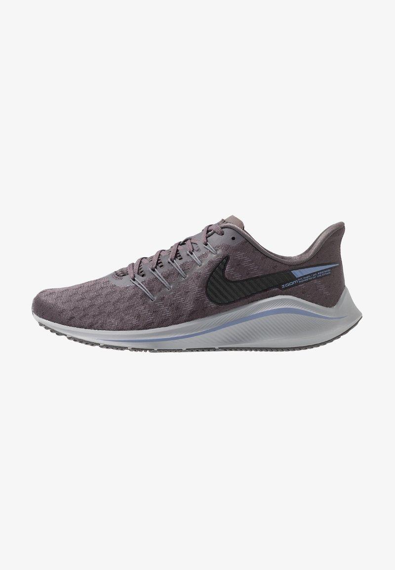 Nike Performance - AIR ZOOM VOMERO  - Laufschuh Stabilität - thunder grey/black/stellar indigo/gunsmoke/atmosphere grey/light blue