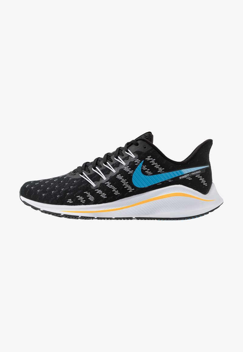Nike Performance - AIR ZOOM VOMERO 14 - Zapatillas de running neutras - black/universe blue/white/psychic blue/laser orange