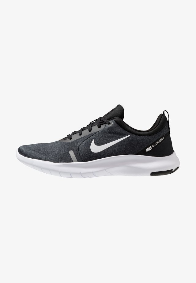 FLEX EXPERIENCE RN  - Minimalist running shoes - black/white/cool grey/reflect silver