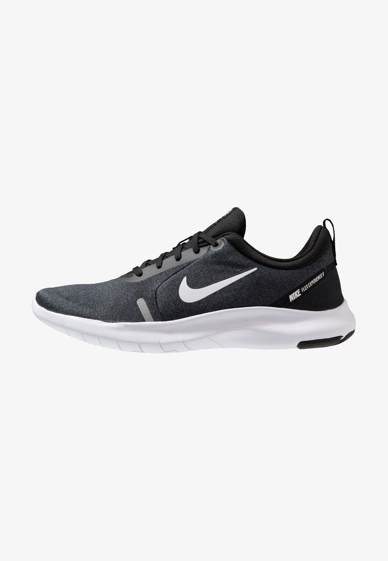 Nike Performance - FLEX EXPERIENCE RN 8 - Paljasjalkajuoksukengät - black/white/cool grey/reflect silver