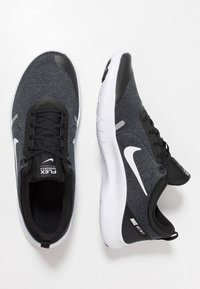 Nike Performance - FLEX EXPERIENCE RN  - Paljasjalkajuoksukengät - black/white/cool grey/reflect silver - 1