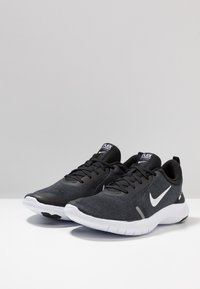Nike Performance - FLEX EXPERIENCE RN  - Paljasjalkajuoksukengät - black/white/cool grey/reflect silver - 2