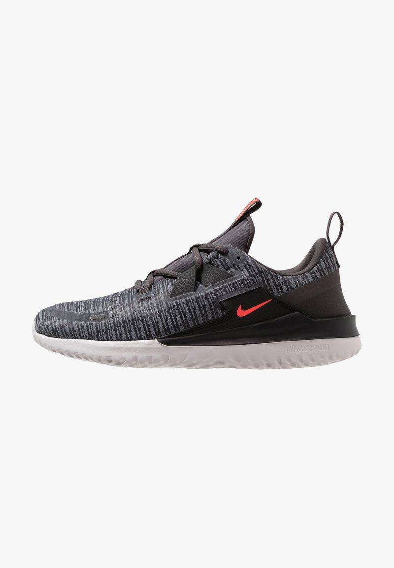 Nike Performance - RENEW ARENA - Neutrale løbesko - thunder grey/bright crimson/black