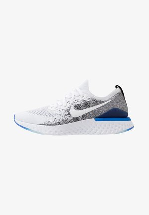 EPIC REACT FLYKNIT 2 - Neutrala löparskor - white/black/racer blue