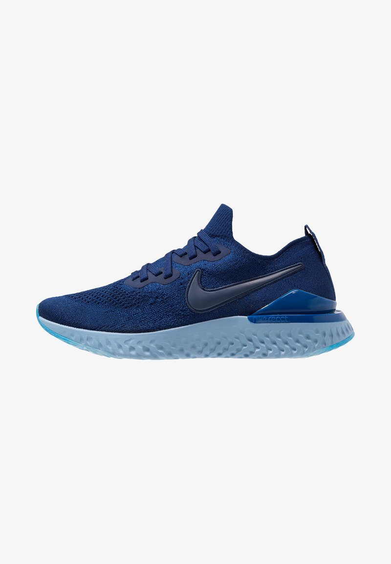 Nike Performance - EPIC REACT FLYKNIT 2 - Neutrale løbesko - blue void/indigo force