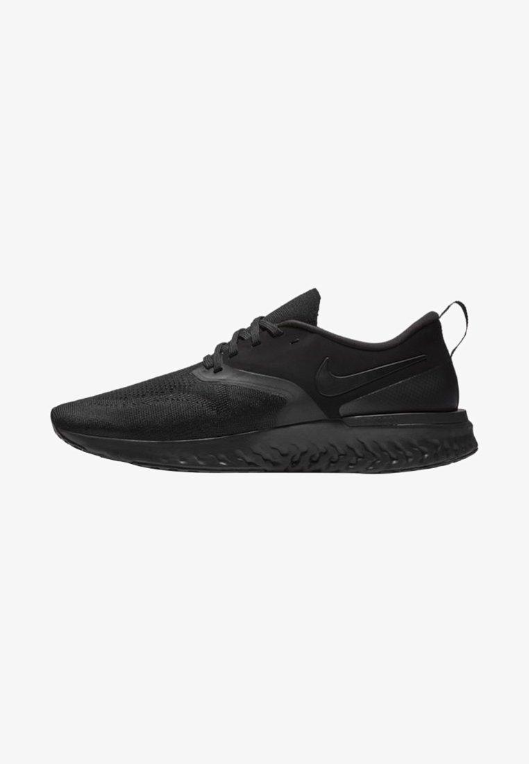 Nike Performance - ODYSSEY REACT FLYKNIT - Neutrale løbesko - black/white