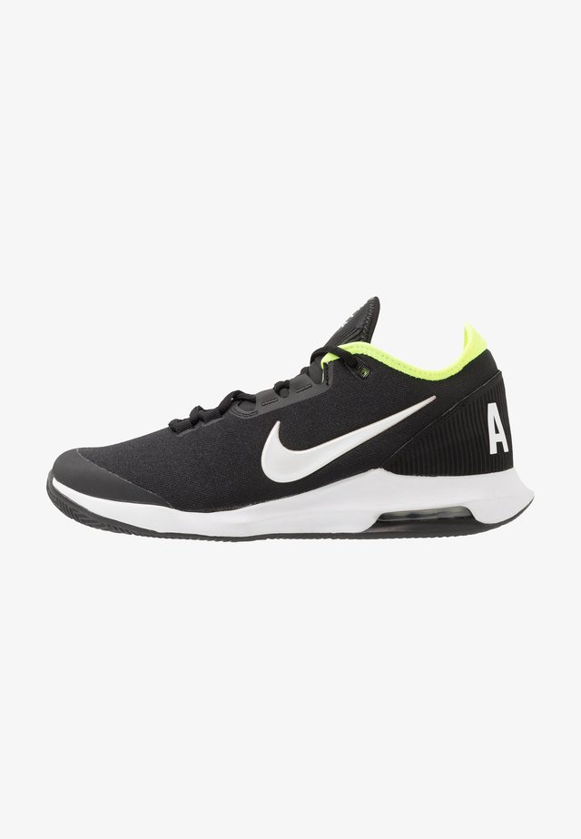 COURT AIR MAX WILDCARD CLAY - Tennisskor för grus - black/white/volt