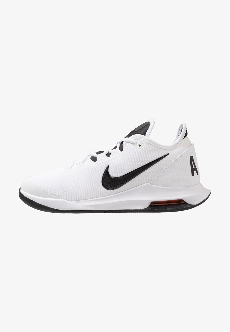 Nike Performance - AIR MAX WILDCARD HC - Multicourt Tennisschuh - white/black/bright crimson