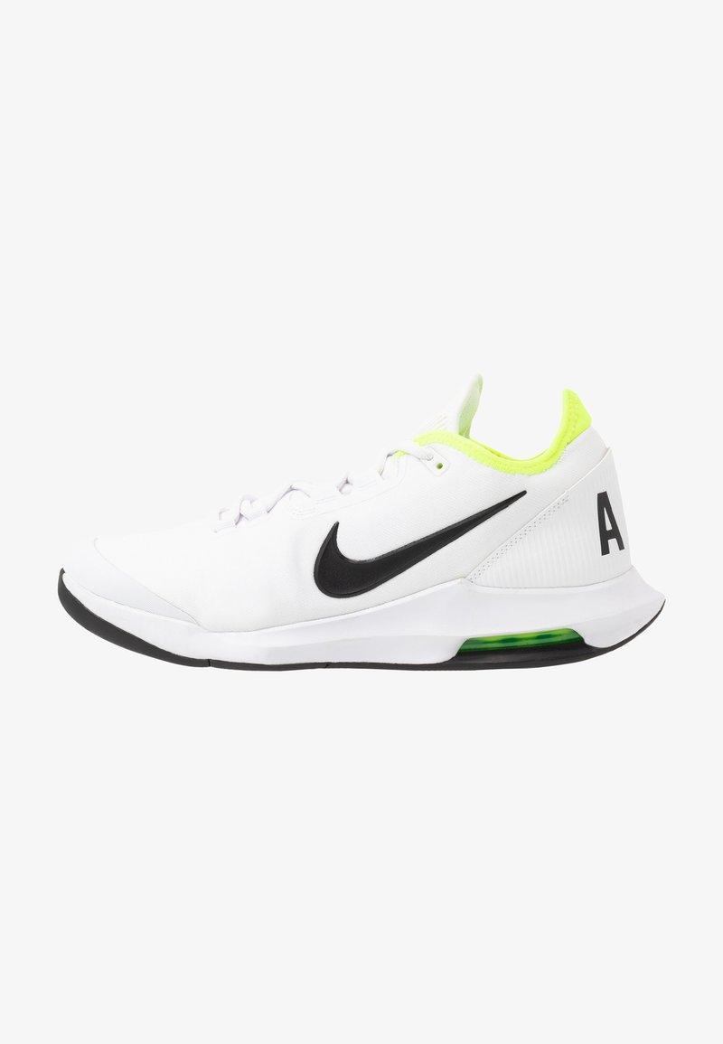 Nike Performance - AIR MAX WILDCARD  - Allcourt tennissko - white/black/volt