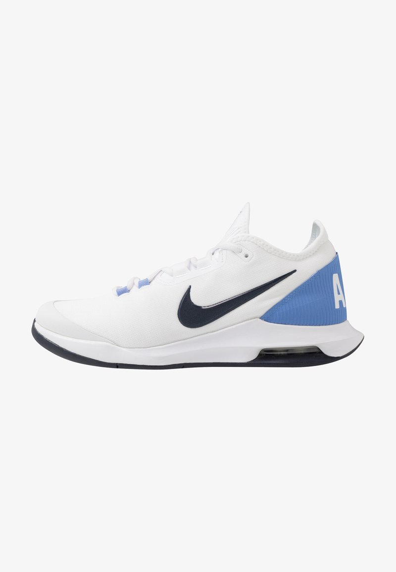 Nike Performance - COURT AIR MAX WILDCARD - Tennisschoenen voor alle ondergronden - white/obsidian/royal pulse
