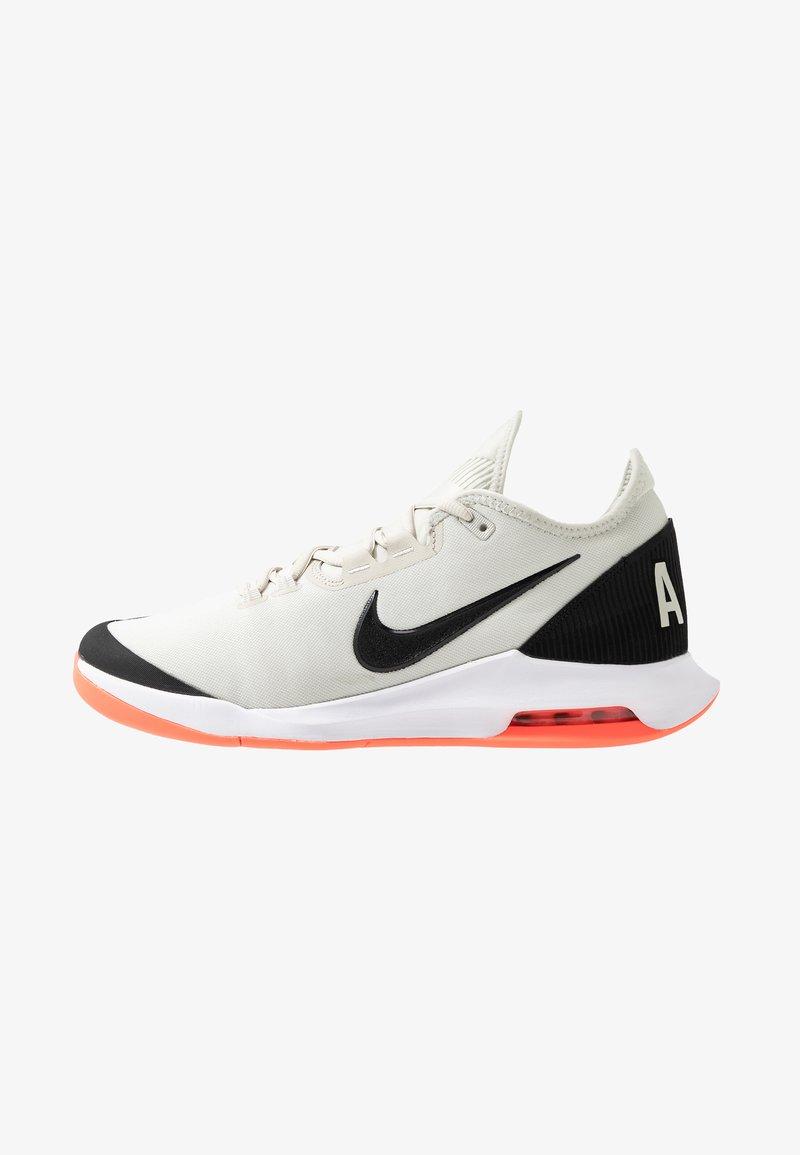 Nike Performance - AIR MAX WILDCARD  - Multicourt tennis shoes - light bone/black/hot lava/white