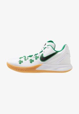 KYRIE FLYTRAP II - Basketball shoes - white/black/aloe verde/light brown