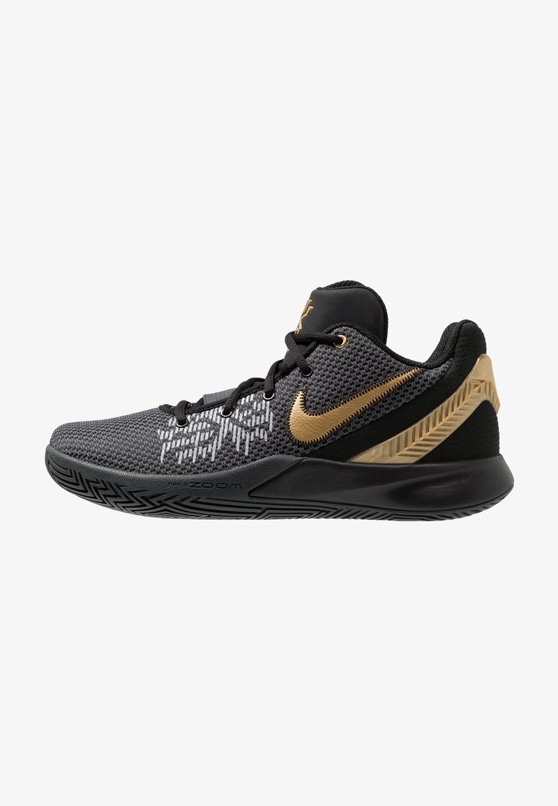 Nike Performance - KYRIE FLYTRAP II - Basketball shoes - black/metallic gold/anthracite