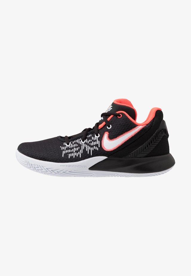 KYRIE FLYTRAP II - Basketbalové boty - black/white/bright crimson