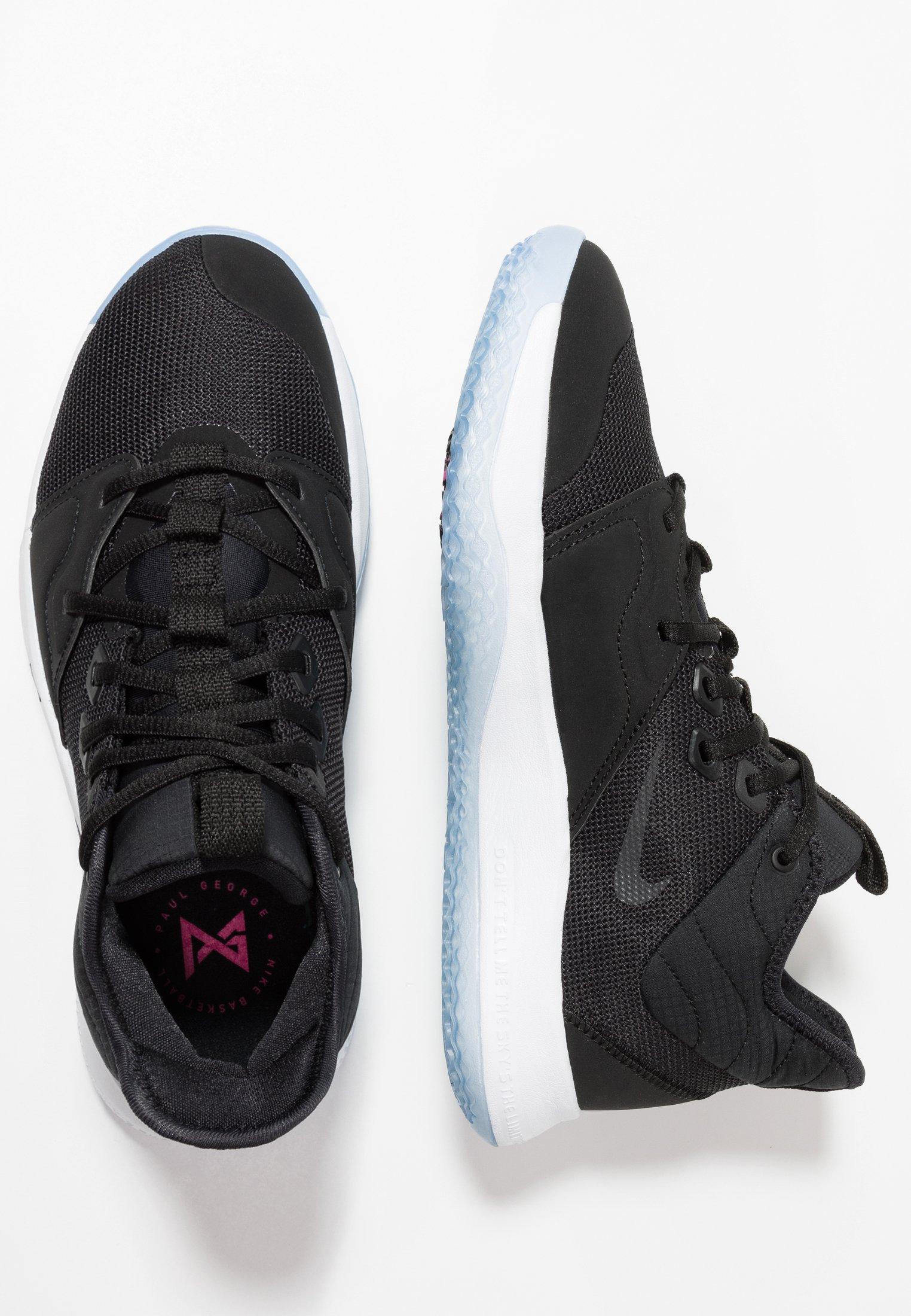 Nike Performance PG3 Chaussures de basket blackwhite