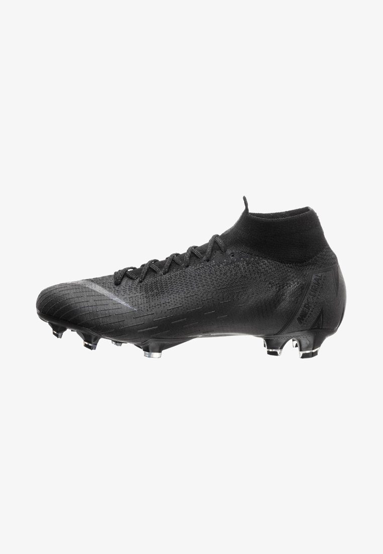 Nike Performance - MERCURIAL VI ELITE DF FG - Fußballschuh Nocken - black