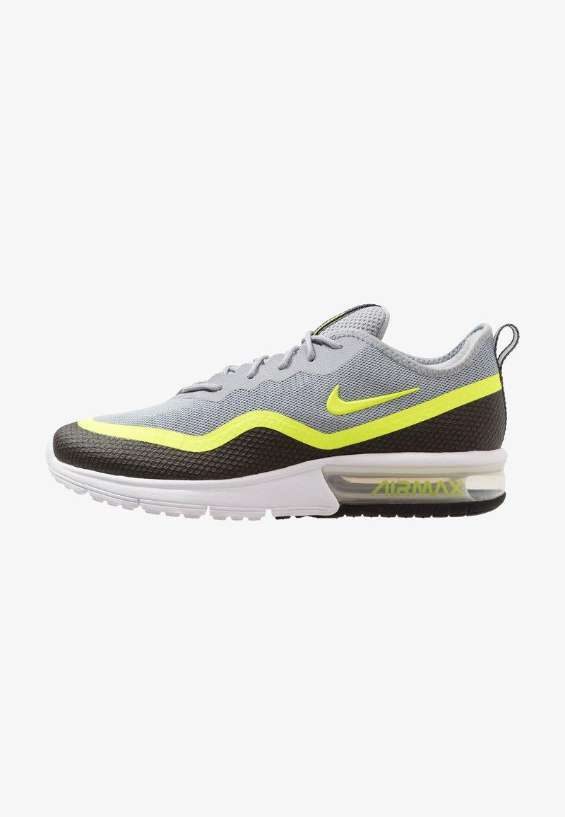 Nike Performance - AIR MAX SEQUENT  - Laufschuh Neutral - black/volt/white