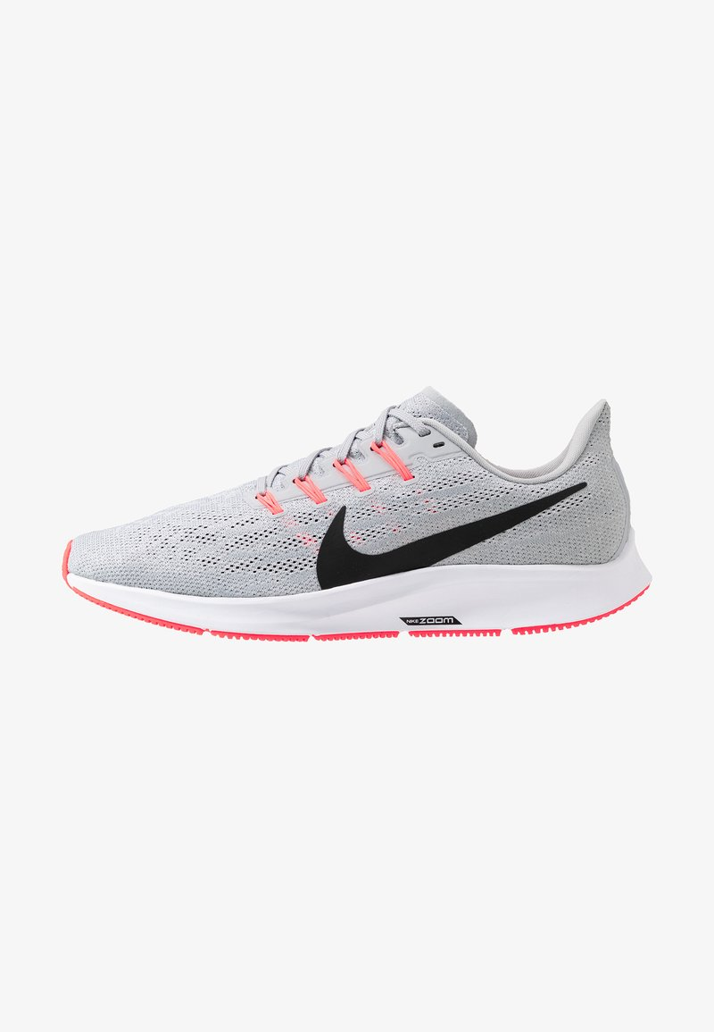 Nike Performance - AIR ZOOM PEGASUS  - Stabiliteit hardloopschoenen - wolf grey/black/white/bright crimson