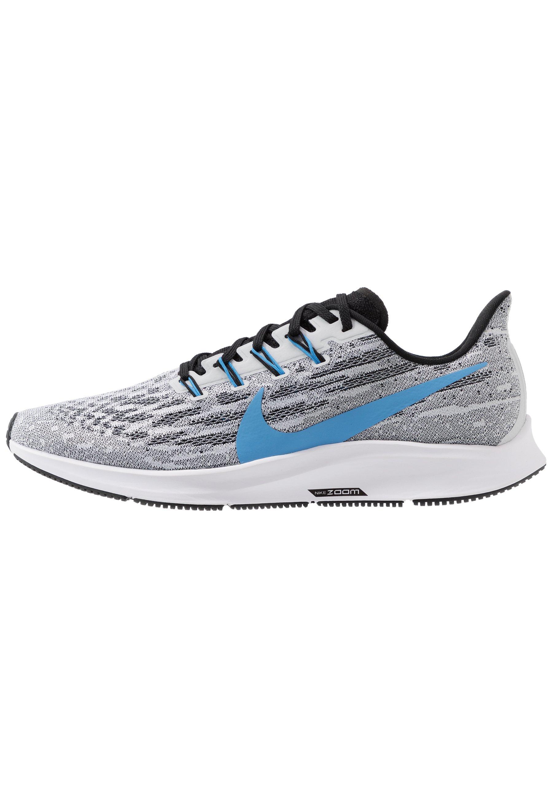 Nike Performance Air Zoom Pegasus - Obuwie Do Biegania Stabilność White/university Blue/black/pure Platinum/laser Orange