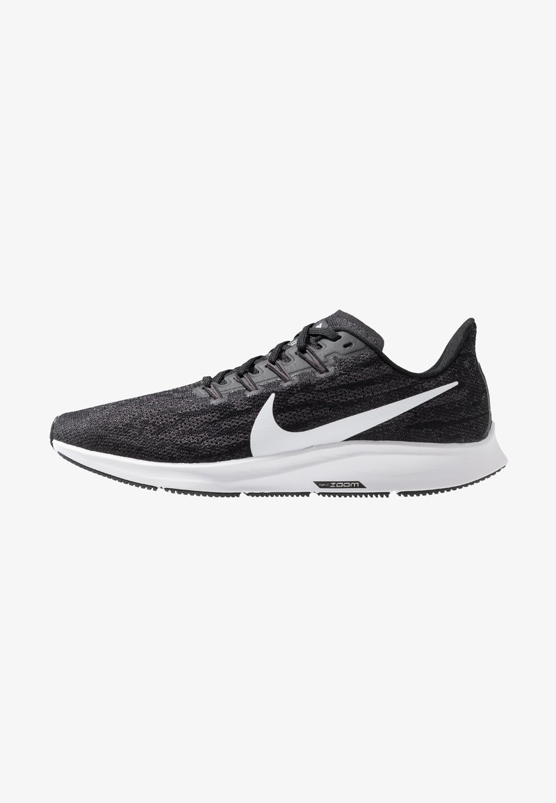 Nike Performance - AIR ZOOM PEGASUS  - Stabilty running shoes - black/white/thunder grey
