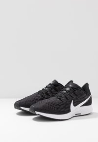 Nike Performance - AIR ZOOM PEGASUS  - Stabilty running shoes - black/white/thunder grey - 2