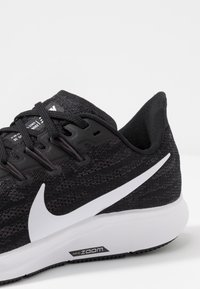 Nike Performance - AIR ZOOM PEGASUS  - Stabilty running shoes - black/white/thunder grey - 5