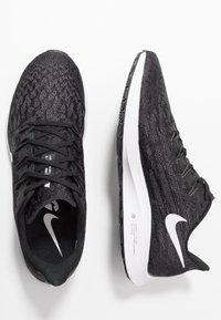 Nike Performance - AIR ZOOM PEGASUS  - Stabilty running shoes - black/white/thunder grey - 1