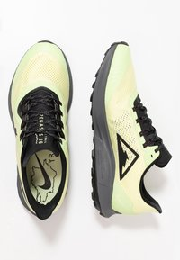 Nike Performance - AIR ZOOM PEGASUS 36  - Zapatillas de trail running - luminous green/burgundy ash/black - 1
