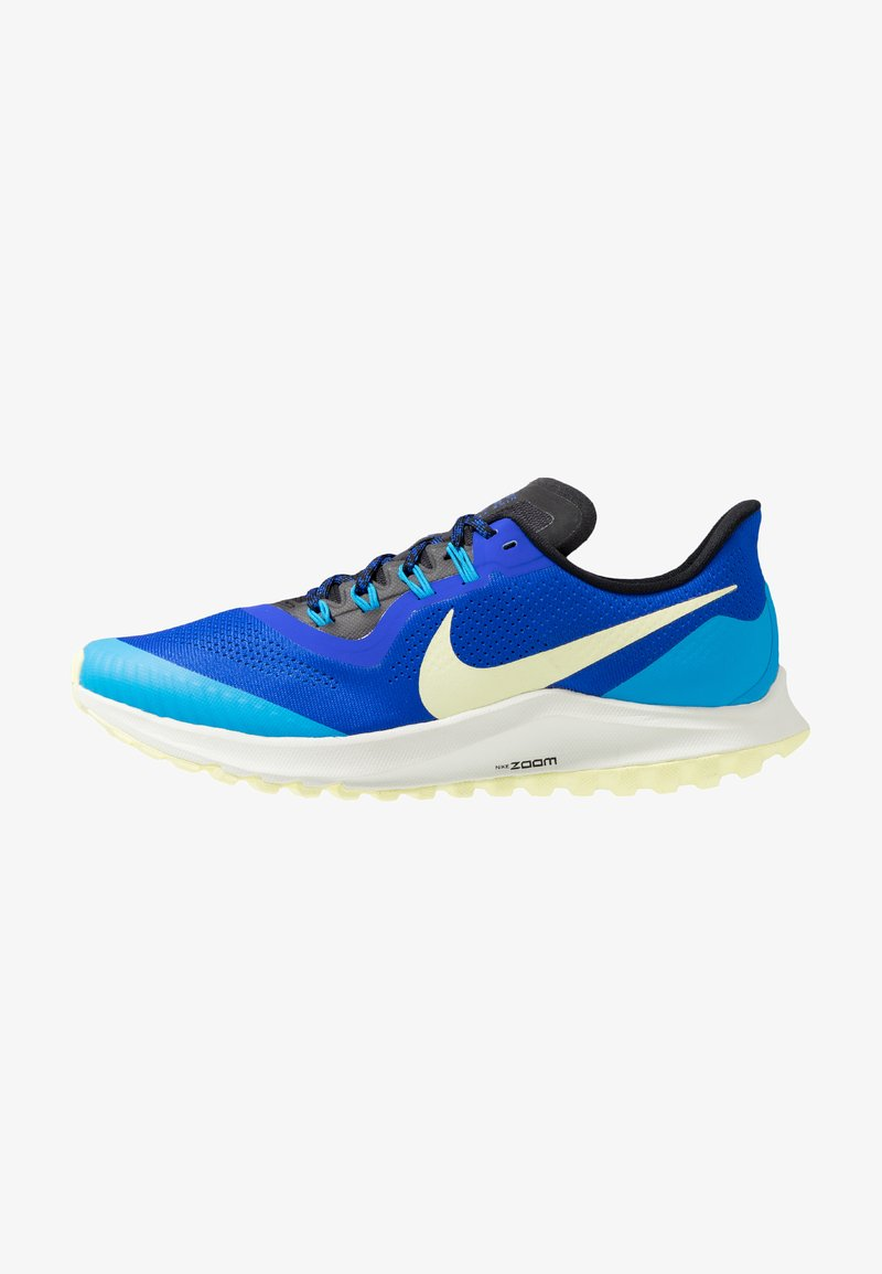 Nike Performance - AIR ZOOM PEGASUS 36  - Laufschuh Trail - racer blue/luminous green/blue hero/spruce aura/black
