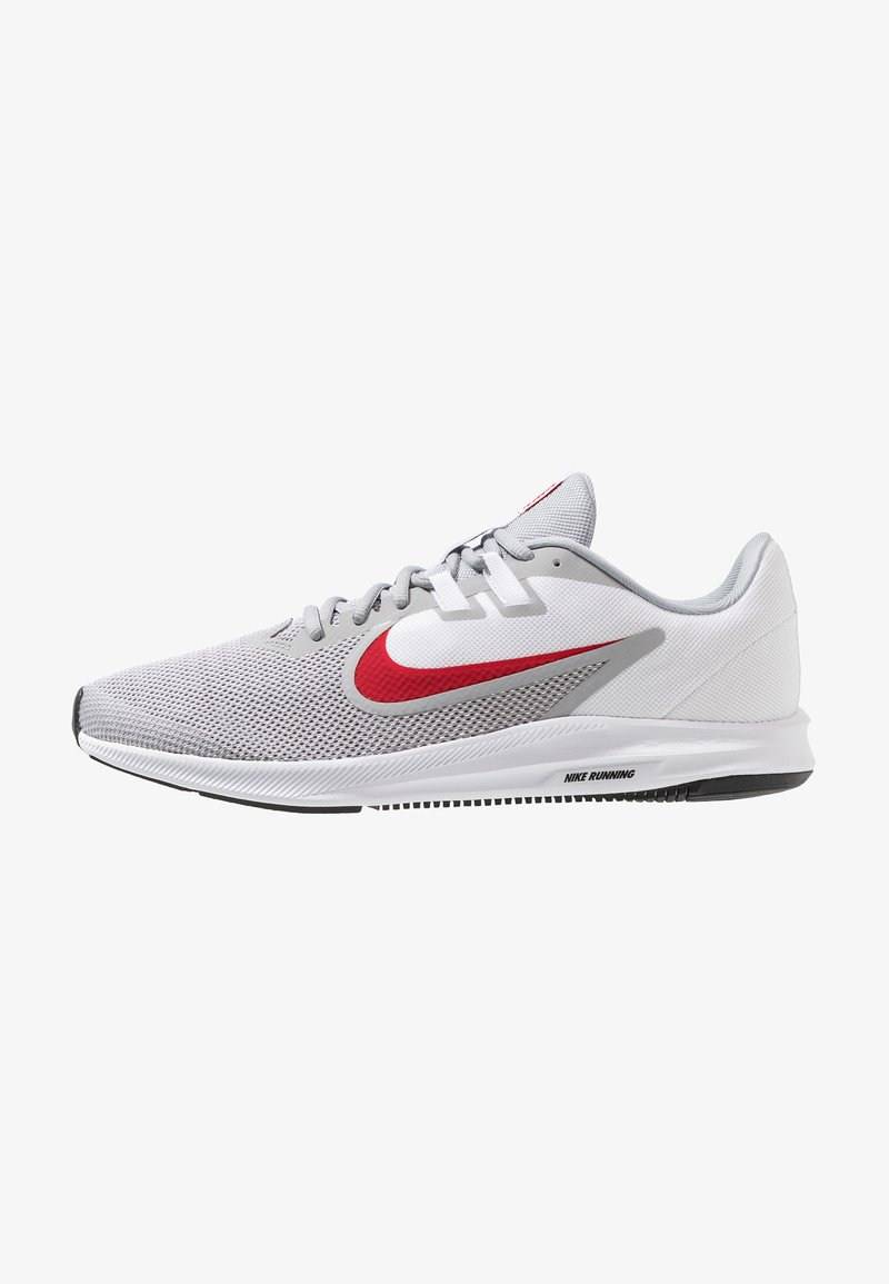 Nike Performance - DOWNSHIFTER 9 - Laufschuh Neutral - wolf grey/university red/white/black