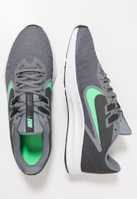 Nike Performance - DOWNSHIFTER 9 - Zapatillas de running neutras - cool grey/electro green/anthracite/black - 1