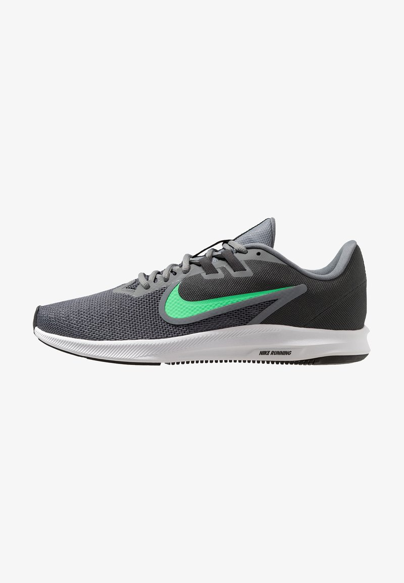Nike Performance - DOWNSHIFTER 9 - Neutral running shoes - cool grey/electro green/anthracite/black