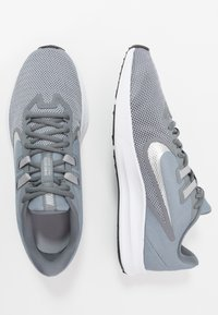 Nike Performance - DOWNSHIFTER 9 - Neutral running shoes - cool grey/metallic silver/wolf grey/black/pure platinum/white - 1