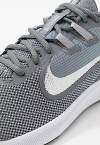Nike Performance - DOWNSHIFTER 9 - Neutral running shoes - cool grey/metallic silver/wolf grey/black/pure platinum/white - 5