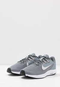 Nike Performance - DOWNSHIFTER 9 - Neutral running shoes - cool grey/metallic silver/wolf grey/black/pure platinum/white - 2