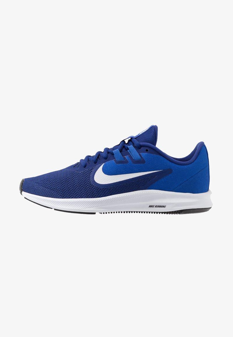 Nike Performance - DOWNSHIFTER 9 - Obuwie do biegania treningowe - deep royal blue/white/game royal/black