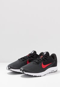Nike Performance - DOWNSHIFTER 9 - Zapatillas de running neutras - black/university red/white - 2