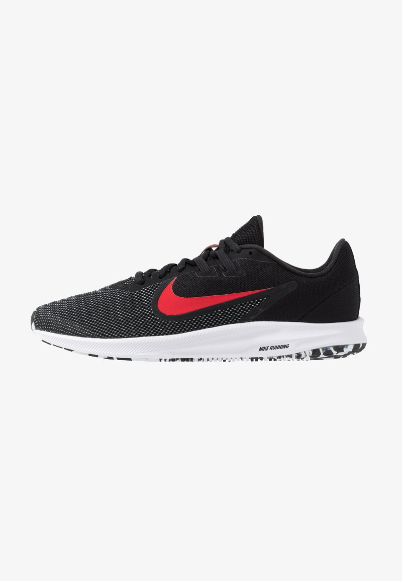 Nike Performance - DOWNSHIFTER 9 - Zapatillas de running neutras - black/university red/white