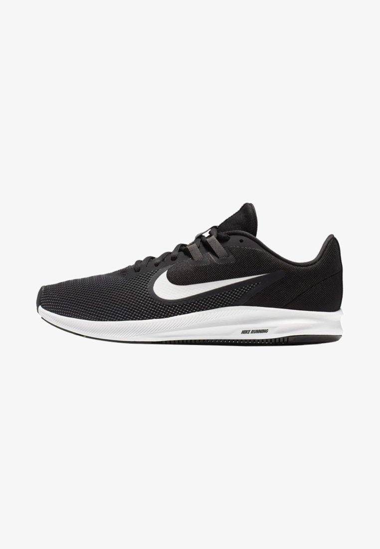 Nike Performance - DOWNSHIFTER 9 - Neutral running shoes - black/anthracite/grey/white