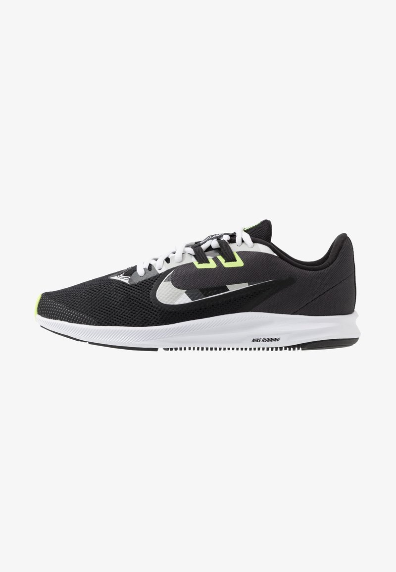 Nike Performance - DOWNSHIFTER 9 - Zapatillas de running neutras - black/white/particle grey/dark smoke grey/ghost green/sapphire