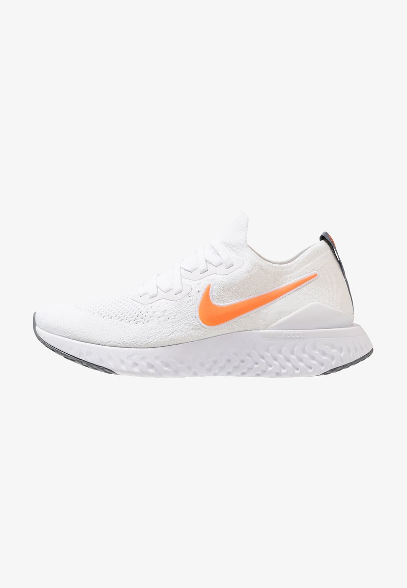 Nike Performance - EPIC REACT FLYKNIT 2 - Laufschuh Neutral - white/total orange/cool grey
