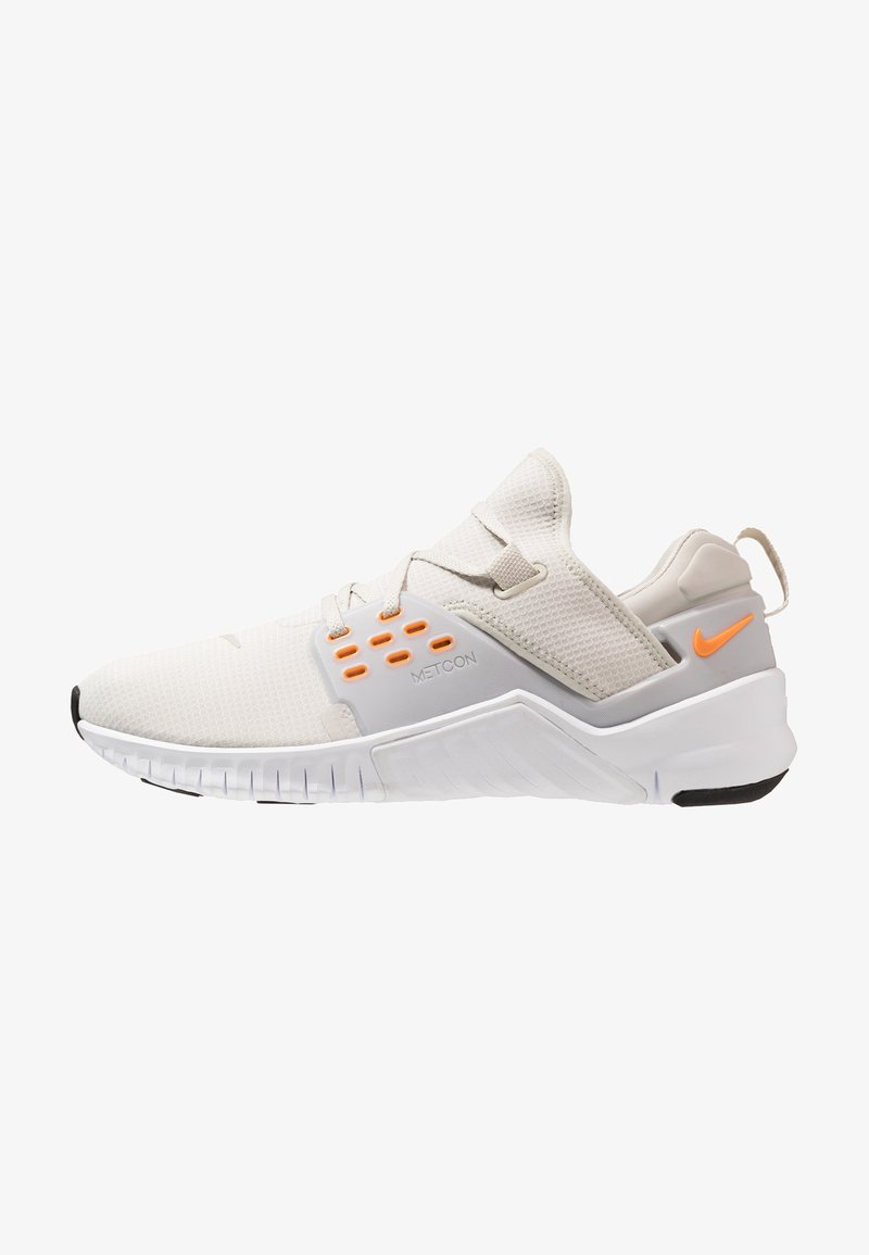 Nike Performance - FREE METCON 2 - Obuwie do biegania neutralne - light bone/orange peel/white/black