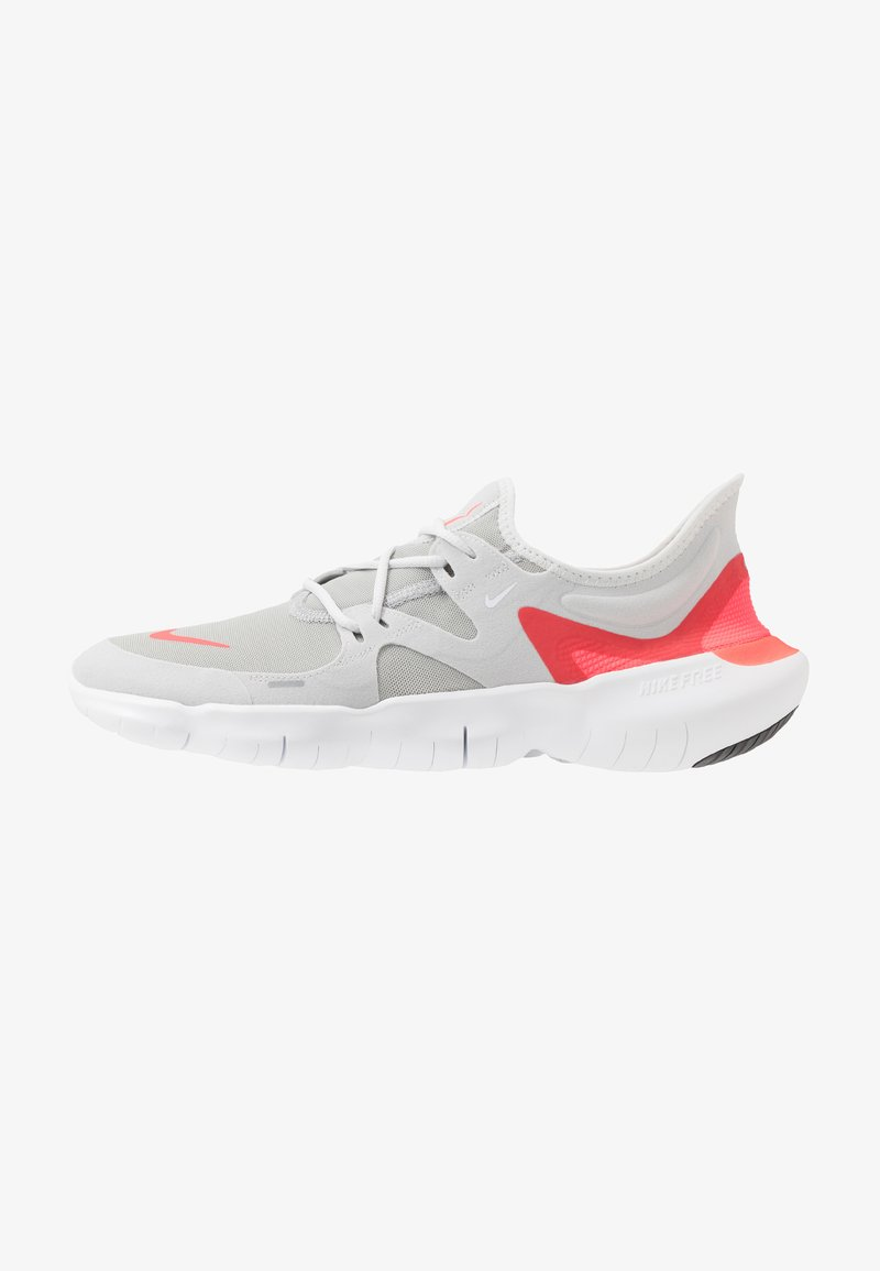 Nike Performance - FREE RN 5.0 - Minimalist running shoes - photon dust/white/light smoke grey