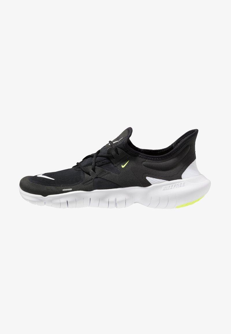 Nike Performance - FREE RN 5.0 - Obuwie do biegania neutralne - black/white/anthracite/volt