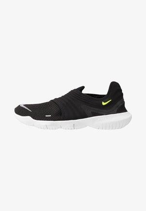 FREE RN FLYKNIT 3.0 - Obuwie do biegania neutralne - black/volt/white