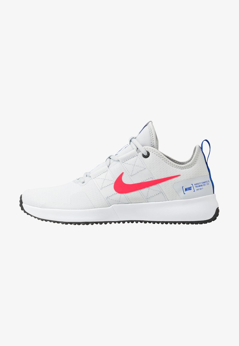 Nike Performance - VARSITY COMPETE TR 2 - Træningssko - pure platinum/red orbit/white/racer blue/black