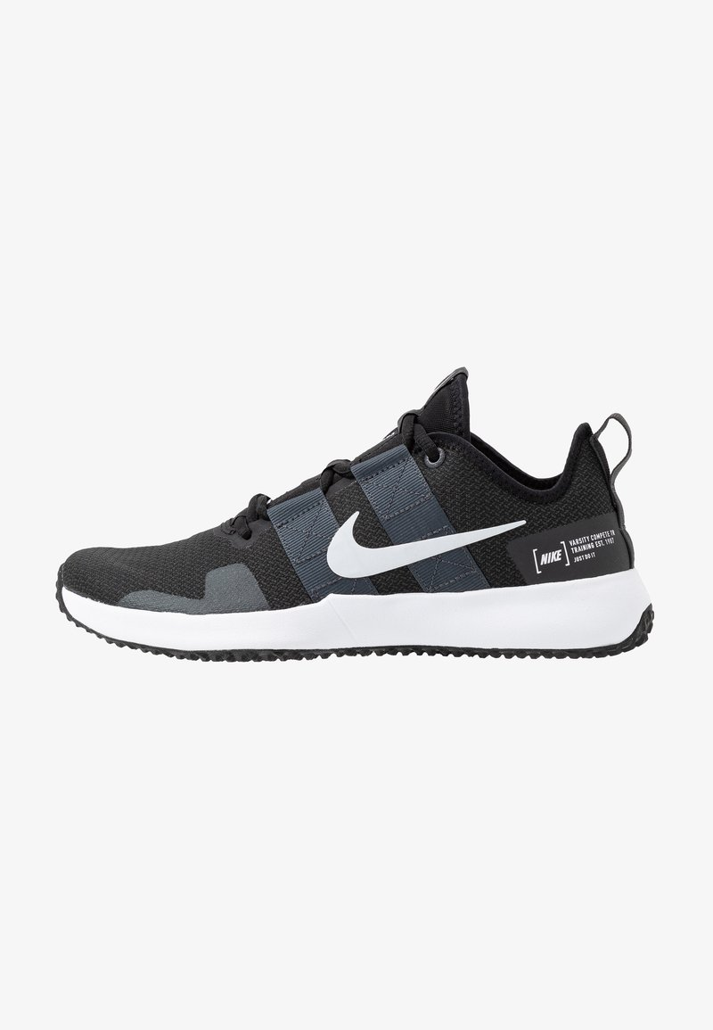 Nike Performance - VARSITY COMPETE TRAINER 2 - Sports shoes - black/white/anthracite