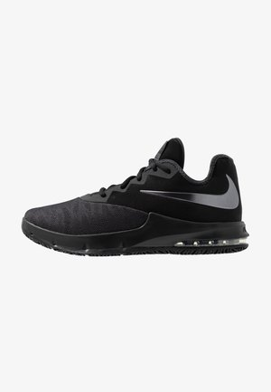 AIR MAX INFURIATE III LOW - Obuwie do koszykówki - black/metallic dark grey/anthracite